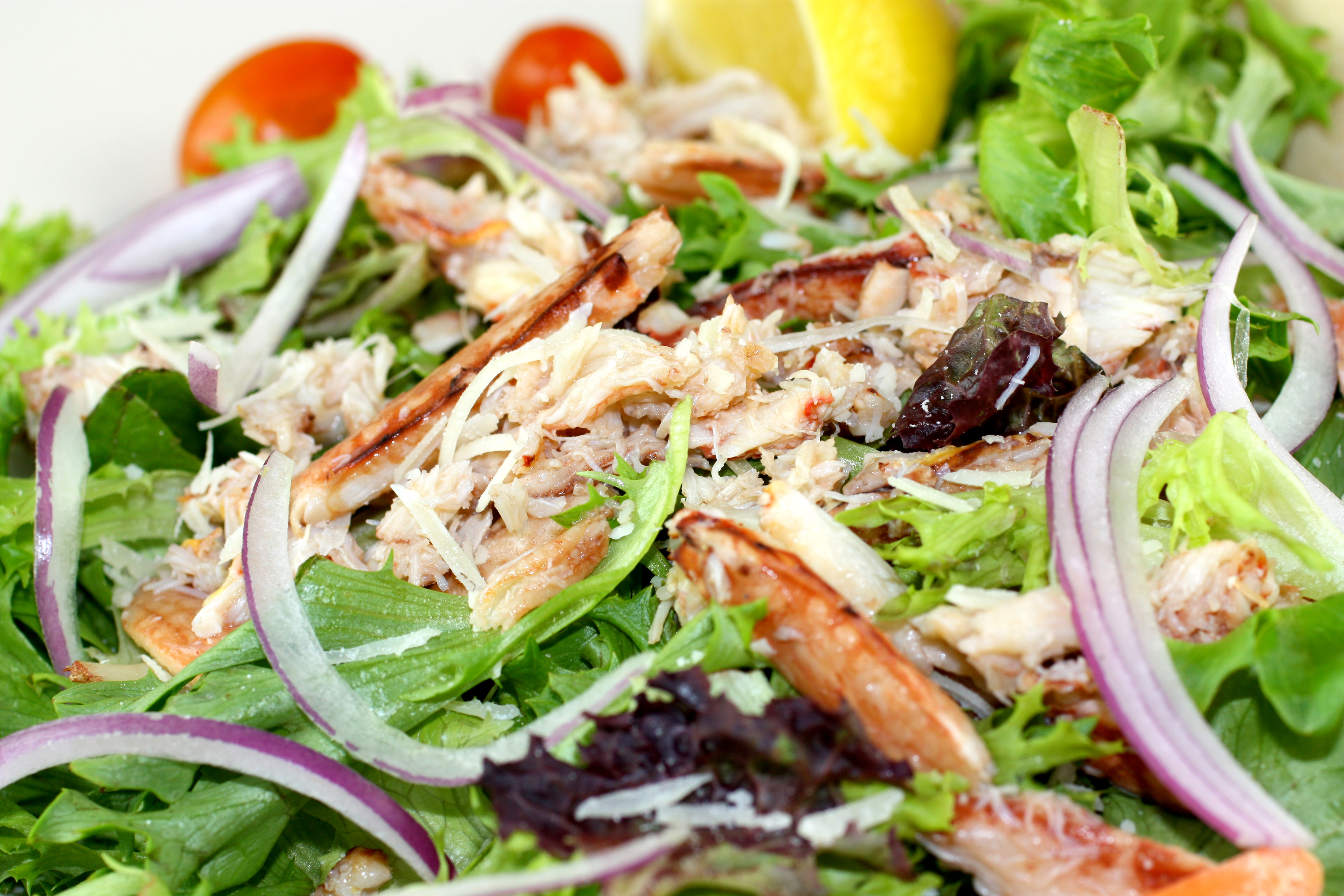 Real Crab Meat Salad from Fresh Off The Hook Seafood Restaurant, Boise, Idaho