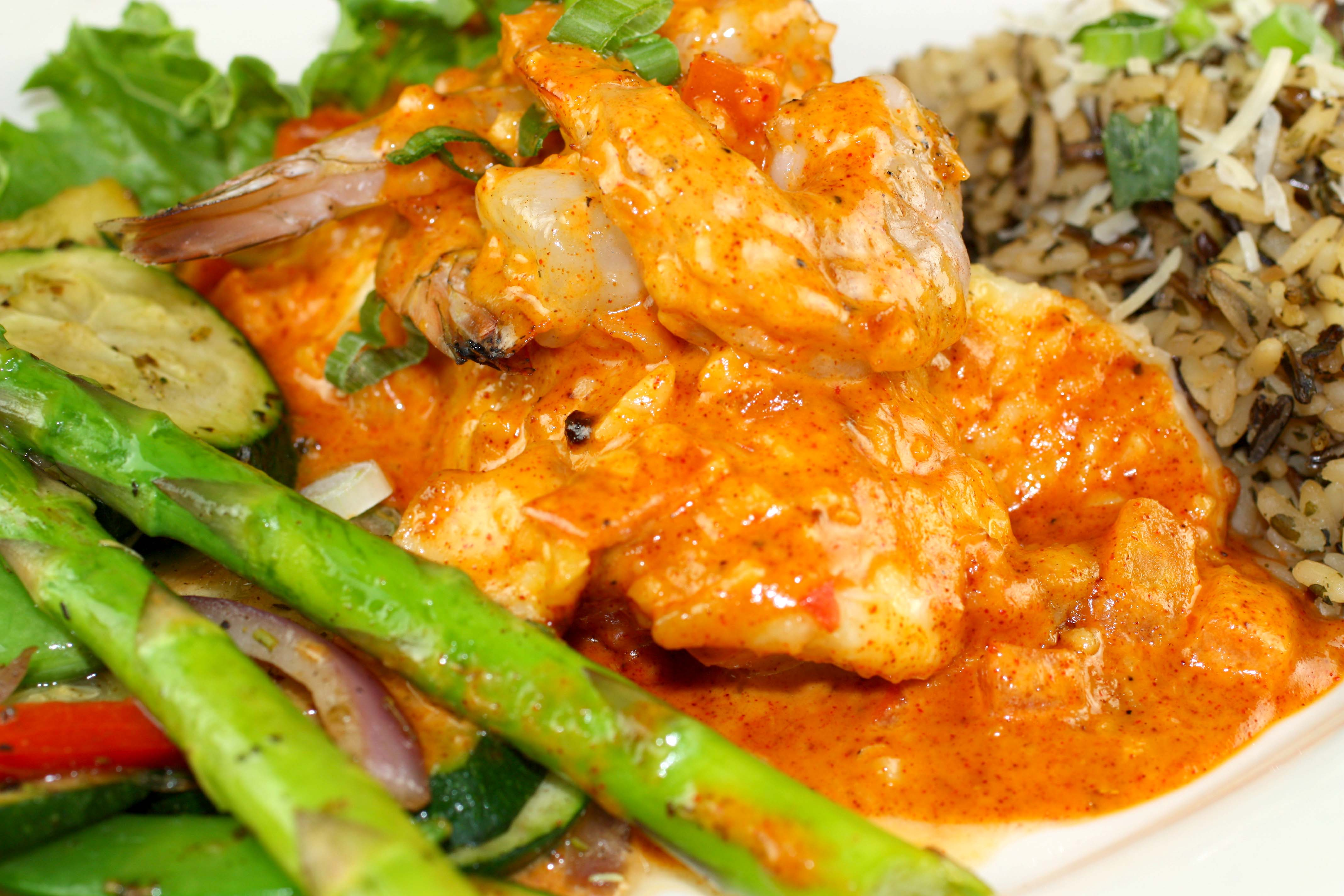 Creole Mixed Grill, Fresh Off The Hook Seafood Boise