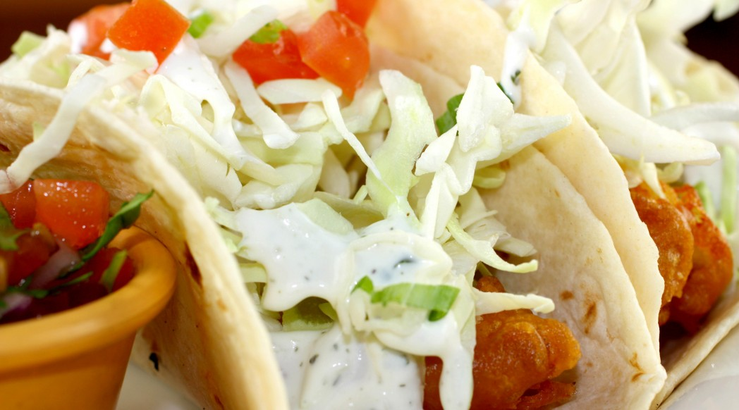 Fish/Chicken Tacos from Fresh Off The Hook Seafood Restaurant, Boise Idaho